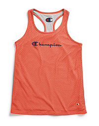 5831dc752d0 Champion Women s Reversible Mesh To Jersey Tank