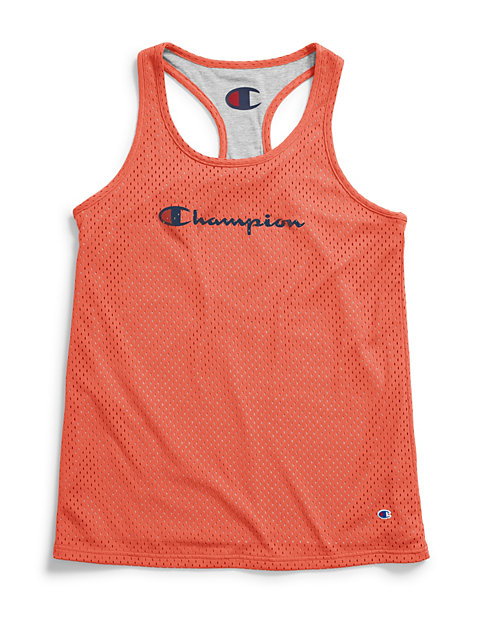 ee3339c26e4fb Champion Women s Reversible Mesh To Jersey Tank