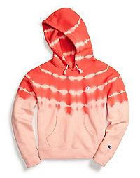 Champion Life® Women's Reverse Weave® Streak Dye Pullover Hoodie