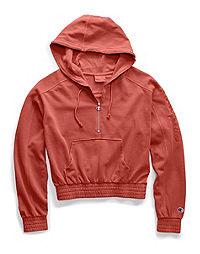 Champion Life® Women's Vintage Dyed Fleece Half Zip Hood