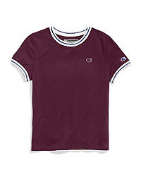 Champion Life® Women's Tiny Tee, C Logo