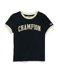Champion Life® Women's Tiny Tee,  Block Logo
