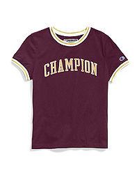Champion Life® Women's Tiny Tee,  Block Logo