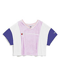 Champion Life® Women's Colorblock Tee, Embroidered Logo