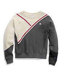 Champion Life® Women's Reverse Weave® Colorblock Crew