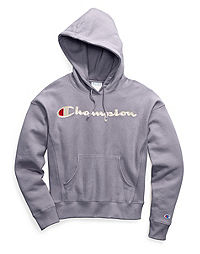 Champion Life® Women's Garment-Dyed Reverse Weave® Pullover Hood, Embroidered Logo