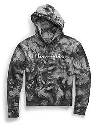 Champion Life® Women's Reverse Weave® Scrunch Dye Pullover Hood, Metallic Logo