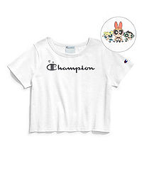Exclusive Champion Life® x The Powerpuff Girls Women's Cropped Tee
