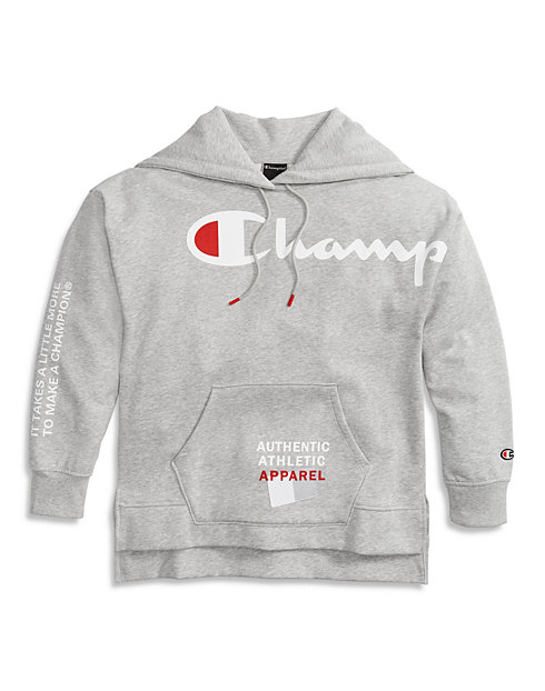 Champion® Super Fleece Women's Fashion Hoodie, Behind The Label