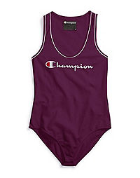 Champion Life® Women's Everyday Tank Top Bodysuit, Script Logo