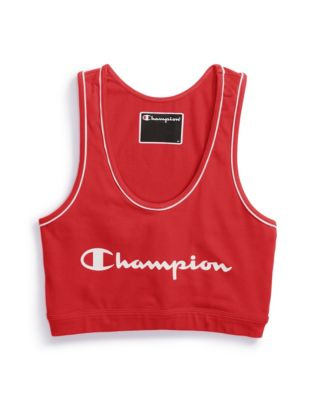 Champion Life&®  Women's Everyday Crop Top, Script Logo