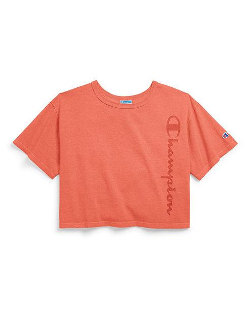 ba698de7d62 Champion Life® Women s Garment Dyed Cropped Tee
