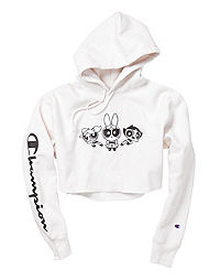Exclusive Champion Life® x The Powerpuff Girls Reverse Weave® Cropped Hoodie, Men's Fit