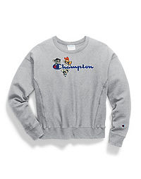 Exclusive Champion Life® x The Powerpuff Girls Women s Reverse Weave® Crew 6601d680b