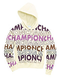 Champion Life® Women's Reverse Weave® Pullover Hood, All-over Logo