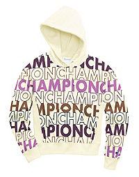 Champion Life® Women's Reverse Weave® Pullover Hood, All-over Logo