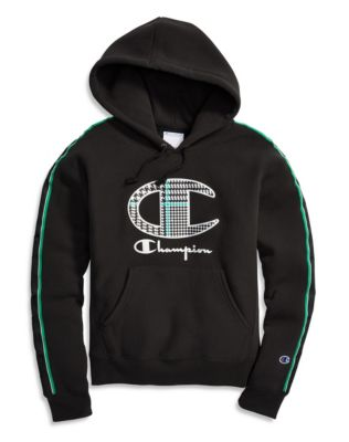 Champion Life® Women's Reverse Weave® Hoodie, Houndstooth Logo