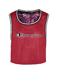 Champion Life® Women's Reversible Mesh Cropped Tank
