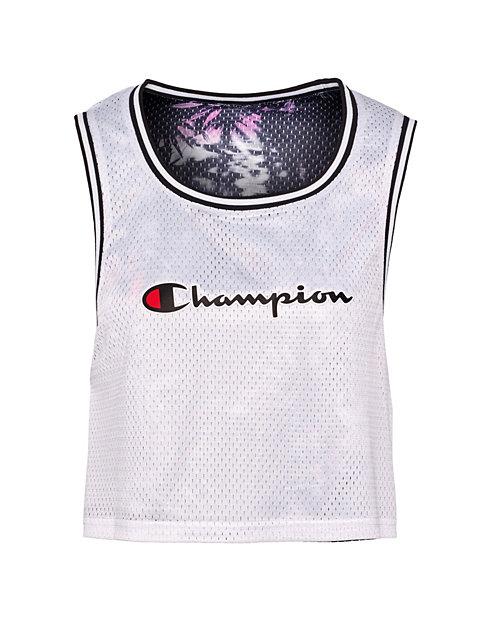 55c8df27bf2c1d Champion Life® Women s Reversible Mesh Cropped Tank