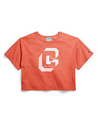 Champion Life® Women's Crop Tee, Shadow C