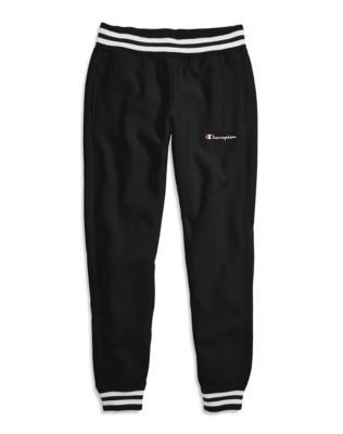 Champion Life® Women's Reverse Weave® Yarn Dye Joggers, Embroidered Logo