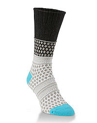 World's Softest® Gallery Textured Crew Socks